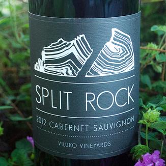 Viluko Vineyards 2012 Split Rock Cabernet Sauvignon 750ml Wine Label