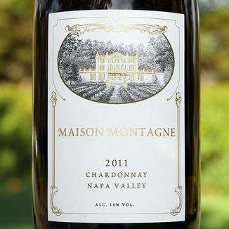 Maison Montagne 2011 Napa Valley Chardonnay 750ml Wine Label