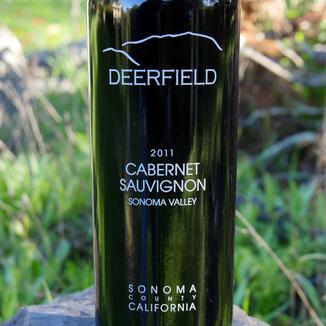 Deerfield Ranch 2011 Sonoma Valley Cabernet Sauvignon 750ml Wine Label