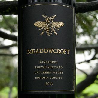 Meadowcroft Wines 2013 Louvau Vineyard Dry Creek Valley Zinfandel 750ml Wine Bottle
