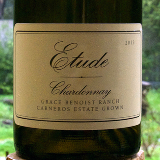 Etude Wines 2013 Carneros Grace Benoist Ranch Chardonnay 750ml Wine Label