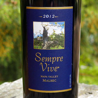 Romeo Vineyards 2012 Sempre Vive Napa Valley Malbec 750ml Wine Bottle