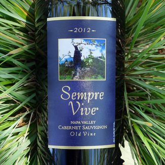 Romeo Vineyards 2012 Sempre Vive Napa Valley Old Vine Cabernet Sauvignon 750ml Wine Label