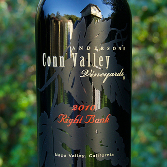 Anderson's Conn Valley Vineyards 2010 Right Bank Red Wine 750ml Wine Label