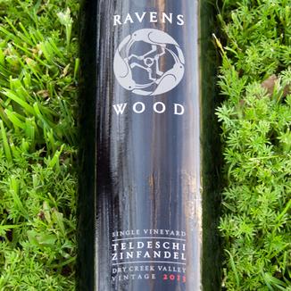 Ravenswood Winery 2013 Dry Creek Valley Teldeschi Vineyard Zinfandel 750ml Wine Bottle