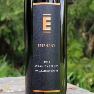 Epiphany Cellars 2013 Camp Four Vineyard Santa Barbara County Syrah-Cabernet 750ml Wine Label