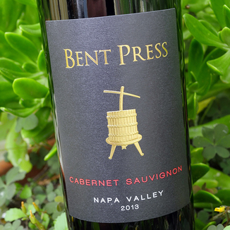 "Freyja Cellars 2013 ""Bent Press"" Napa Valley Cabernet Sauvignon 750ml Wine Bottle"