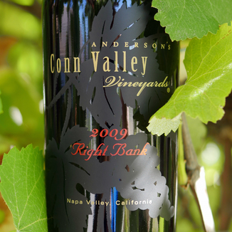 Anderson's Conn Valley Vineyards 2009 Right Bank Red Wine 750ml Wine Label