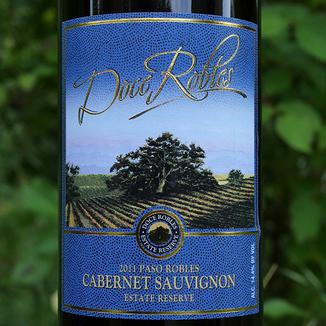 Doce Robles 2011 Paso Robles Estate Reserve Cabernet Sauvignon 750ml Wine Bottle