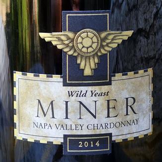 Miner Family Winery 2014 Wild Yeast Napa Valley Chardonnay 750ml Wine Label