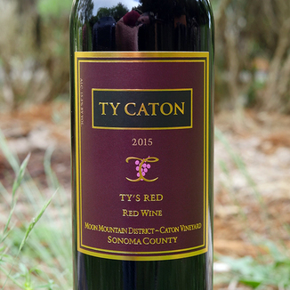 Ty Caton Vineyards 2015 Ty's Red 750ml Wine Label