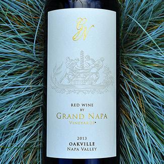 Grand Napa 2013 Oakville Red Wine 750ml Wine Label