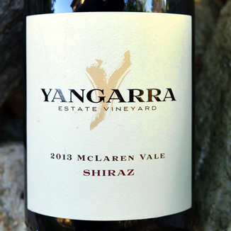 Yangarra Estate Vineyard 2013 McLaren Vale Shiraz 750ml Wine Label