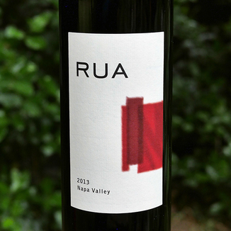Rua Wines 2013 Napa Valley Red Wine 750ml Wine Label