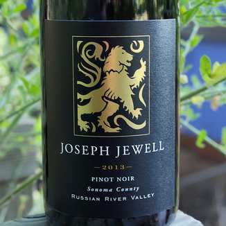 Joseph Jewell Wines 2013 Russian River Valley Pinot Noir 750ml Wine Label