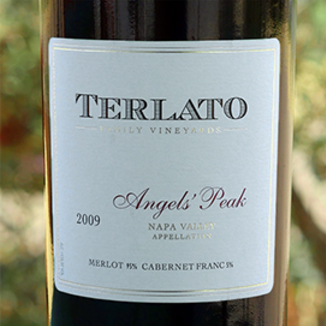 Terlato Family Vineyards 2009 Angels' Peak Red Wine 750ml Wine Label