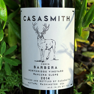 Wines of Substance 2014 'Casa Smith' Northridge Vineyard Wahluke Slope Barbera 750ml Wine Label