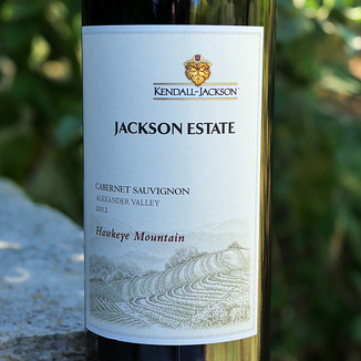 Kendall-Jackson 2012 Hawkeye Mountain Vineyard Alexander Valley Cabernet Sauvignon 750ml Wine Bottle