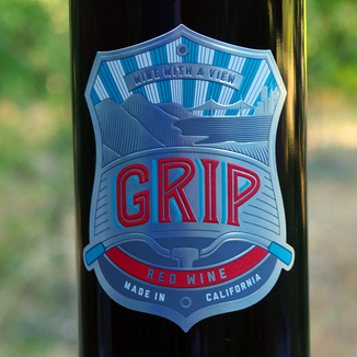 Grip Wines 2012 Red Wine 750ml Wine Label