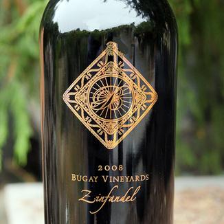 Bugay Vineyards 2008 Mayacamas Mountains Sonoma County Zinfandel 750ml Wine Label