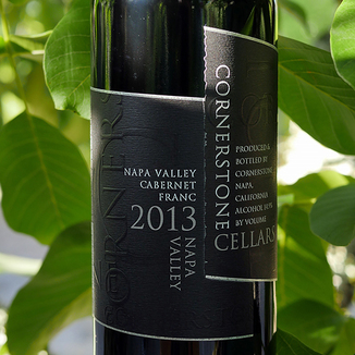 Cornerstone Cellars 2013 Napa Valley Cabernet Franc 750ml Wine Bottle