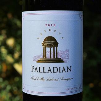 Palladian Estate Winery 2010 Reserve Napa Valley Cabernet Sauvignon 750ml Wine Label