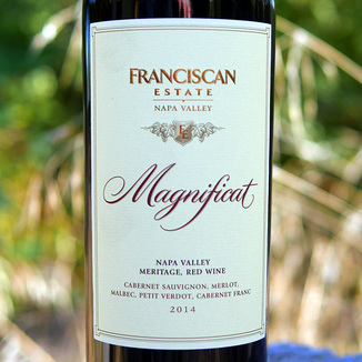 "Franciscan Estate 2014 ""Magnificat"" Red 750ml Wine Label"