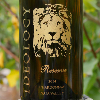 Ideology Cellars 2014 Ideology Reserve Chardonnay Napa Valley California 750ml Wine Label