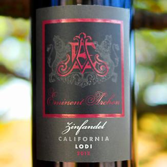 Eminent Archon 2012 Lodi Zinfandel 750ml Wine Label