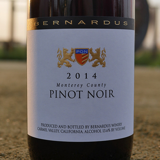 Bernardus Winery 2014 Monterey County Pinot Noir 750ml Wine Bottle