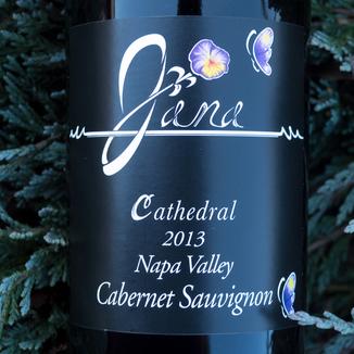 Scott Harvey Wines 2013 Jana Cathedral Napa Valley Cabernet Sauvignon 750ml Wine Bottle