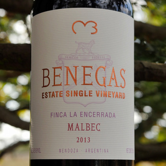 Benegas Lynch 2013 Estate Single Vineyard Finca La Encerrada Mendoza Malbec 750ml Wine Bottle