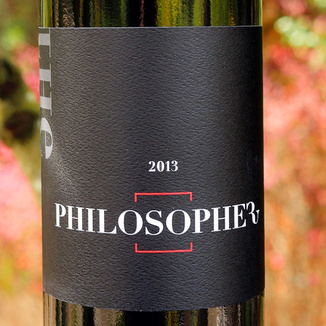 The Wine Foundry 2013 Napa Valley The Philosopher Red Wine 750ml Wine Bottle