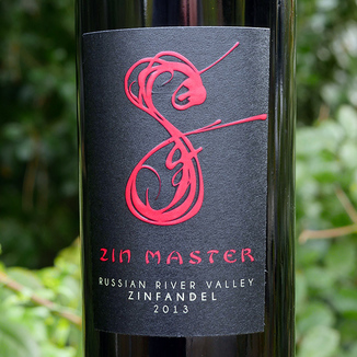 Spicy Wines 2013 Zin Master Russian River Valley Sonoma County Zinfandel 750ml Wine Label