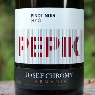 Josef Chromy Wines 2013 Pepik Tasmania Pinot Noir 750ml Wine Bottle