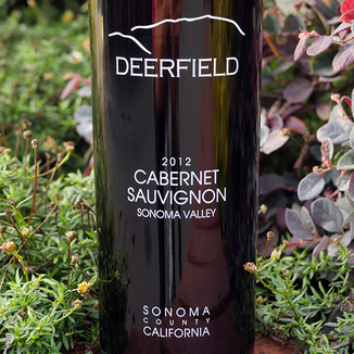 Deerfield Ranch 2012 Sonoma Valley Cabernet Sauvignon 750ml Wine Label