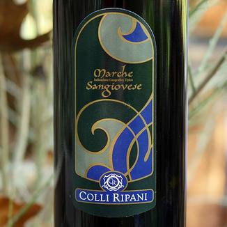 Cantina Colli Ripani 2013 Marche I.G.T. Sangiovese 750ml Wine Bottle