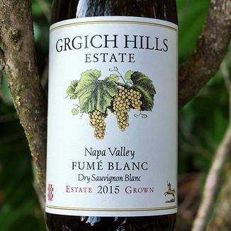 Grgich Hills Estate 2015 Napa Valley Fumé Blanc Estate Grown Dry Sauvignon Blanc 750ml Wine Bottle
