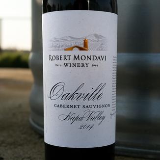 Robert Mondavi Winery 2014 Napa Valley Oakville Cabernet Sauvignon 750ml Wine Bottle