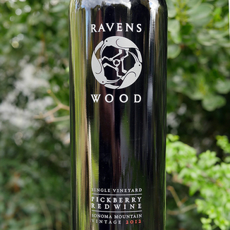 Ravenswood Winery 2012 Pickberry Vineyards Sonoma County Red Blend 750ml Wine Label