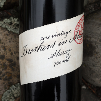 Brothers In Arms 2012 Shiraz 750ml Wine Bottle