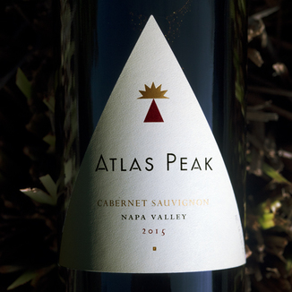 Atlas Peak Wines 2015 Napa Valley Cabernet Sauvignon 750ml Wine Bottle