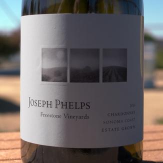 Joseph Phelps 2016 Phelps Freestone Vineyards Sonoma Coast Chardonnay 750ml Wine Label