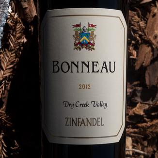 Bonneau Wines 2012 Dry Creek Valley Zinfandel 750ml Wine Label