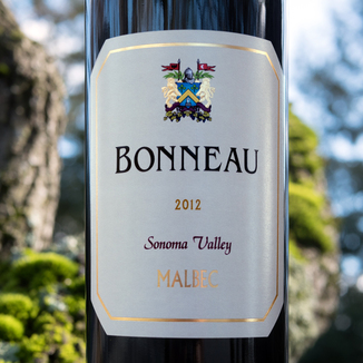 Bonneau Wines 2012 Sonoma Valley Malbec 750ml Wine Label