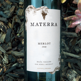 Materra 2010 Napa Valley Oak Knoll District Estate Grown Merlot 750ml Wine Bottle