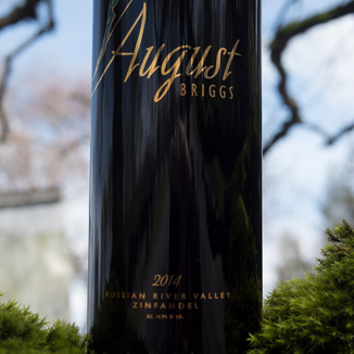 August Briggs Winery 2014 Russian River Valley Zinfandel 750ml Wine Bottle