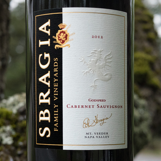 Sbragia Family Vineyards 2012 Godspeed Mt. Veeder Napa Valley Cabernet Sauvignon 750ml Wine Label