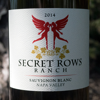 Secret Rows Ranch 2014 Napa Valley Sauvignon Blanc 750ml Wine Label