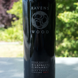 Ravenswood Winery 2015 Dickerson Single Vineyard Napa Valley Zinfandel 750ml Wine Bottle